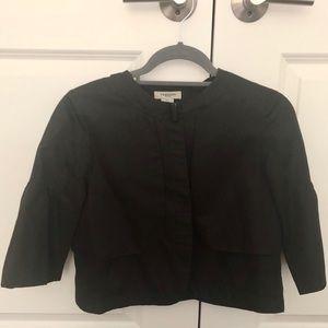 Vertigo crop ballon sleeve blazer